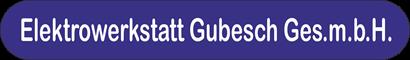 Elektrowerkstatt Gubesch Ges.m.b.H's Company logo